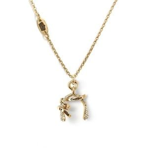 Juicy Couture Wishbone Necklace Juicy Bling